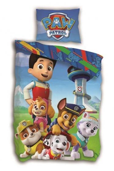 Nickelodeon dekbedovertrek Paw Patrol 140 x 200 cm multicolor kopen