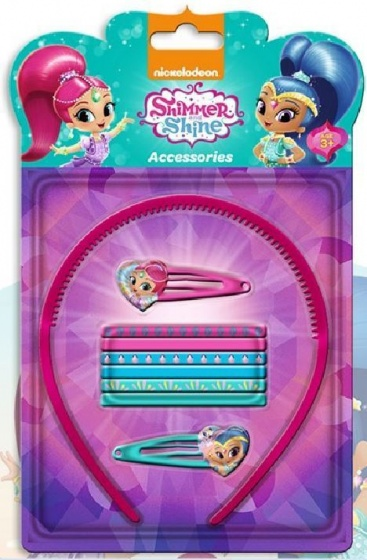 Nickelodeon haaraccessoires Shimmer and Shine 9 delig roze
