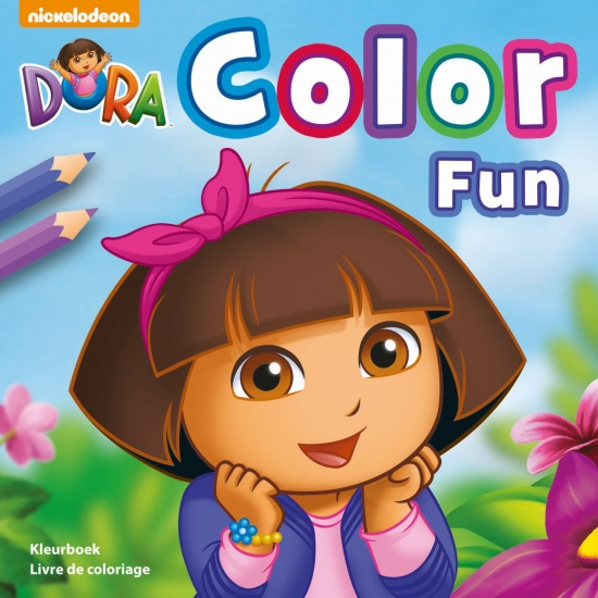 Nickelodeon Kleurboek Dora: Color Fun