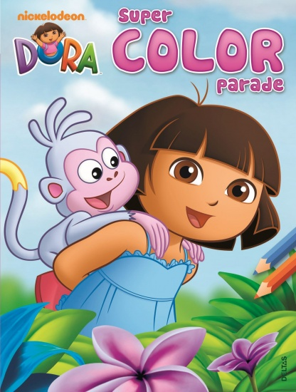 Nickelodeon Kleurboek Dora: super color parade