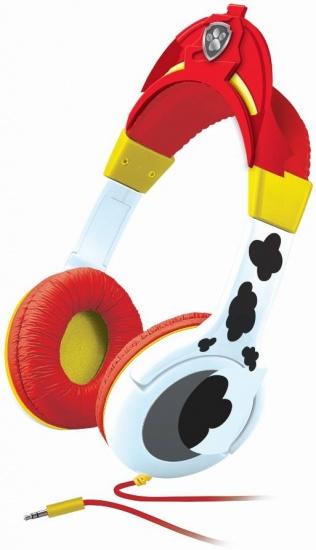 Nickelodeon koptelefoon Paw Patrol rood