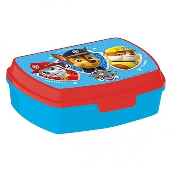 Nickelodeon Paw Patrol broodtrommel blauw