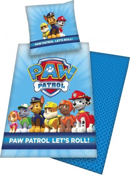 Nickelodeon Paw Patrol dekbedovertrek 140 x 200 cm blauw kopen
