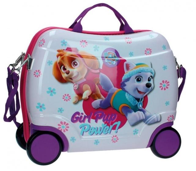 Nickelodeon Paw Patrol Girl Pup koffer 38 x 50 x 20 cm paars