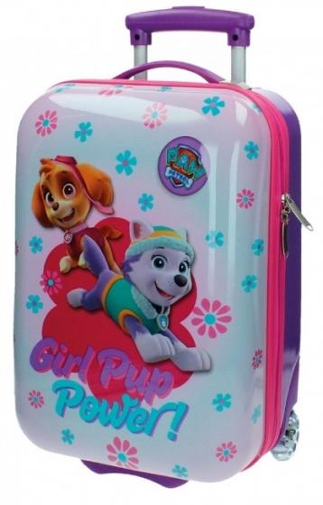 Nickelodeon Paw Patrol Girl Pup trolley 49 x 30 x 18 cm paars