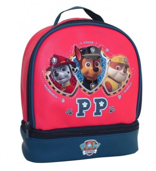 Nickelodeon Paw Patrol gymtas rood 20 x 23 x 10 cm