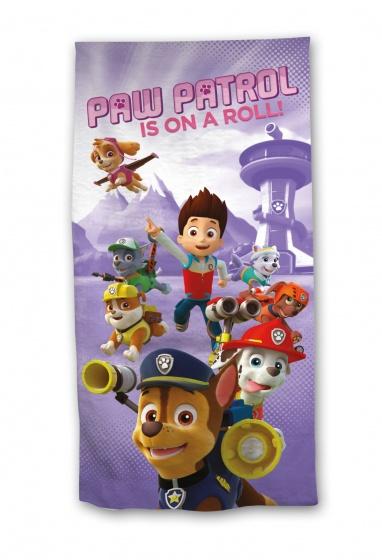 Nickelodeon Paw Patrol on a roll badlaken 70 x 140 cm