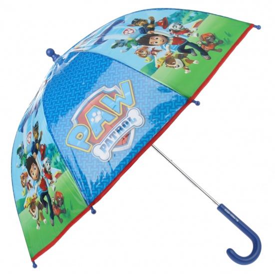 Nickelodeon Paw Patrol paraplu jongens blauw 65 cm