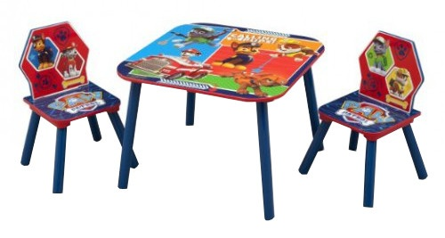 Rood Blauwe Stoel : Nickelodeon paw patrol tafel stoelen set blauw rood internet toys