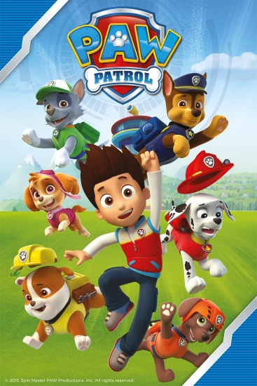 Nickelodeon Plaid Paw Patrol 100x150 cm