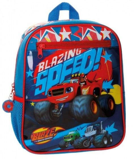 Nickelodeon Blaze Race Backpack blue