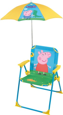 Nickelodeon Stoel Peppa Pig blauw 53 x 39 x 39 cm