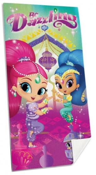 Nickelodeon strandlaken Shimmer and Shine meisjes 70x140 cm kopen