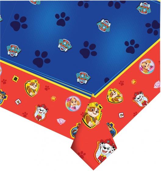 Nickelodeon tafelkleed Paw Patrol 120 x 180 cm rood/blauw