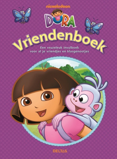 Nickelodeon Vriendenboek Dora