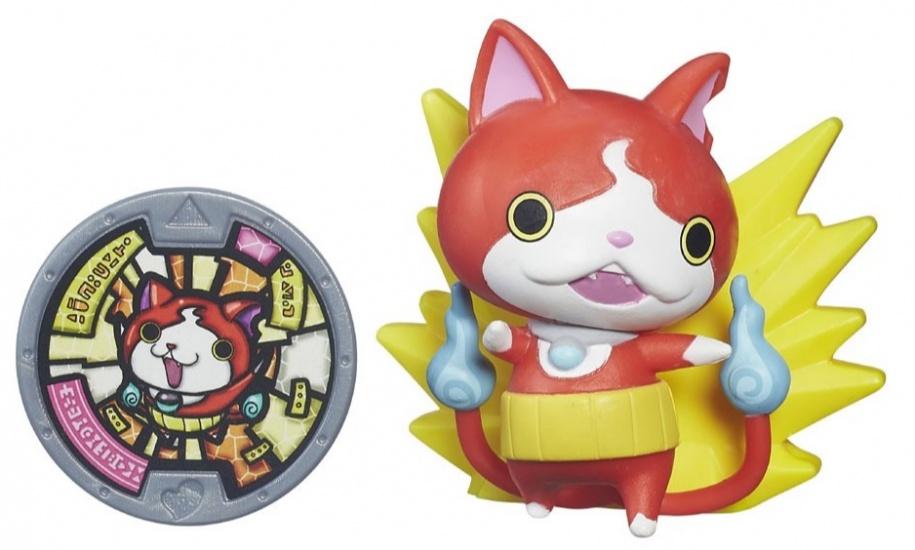 Hasbro Yo Kai Medal Moments Jibanyan rood/geel