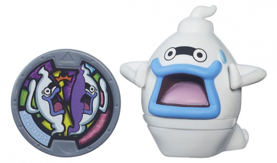 Hasbro Yo Kai Medal Moments Whisper wit/blauw