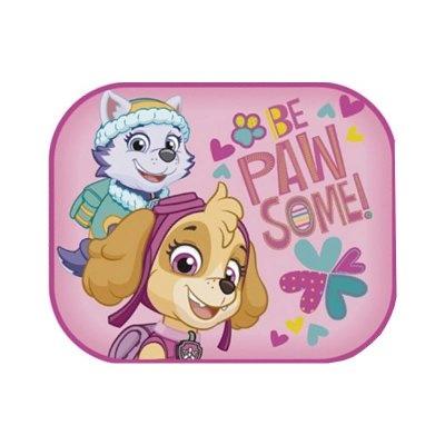 Nickelodeon zonnescherm Pawgirl 2 stuks 45 x 36 cm + kleurplaat kopen