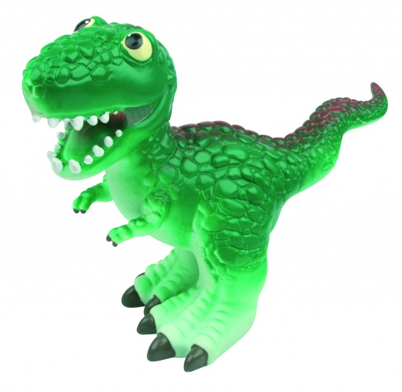 Nic Nac Cartoon Dinosaurus Donker Groen