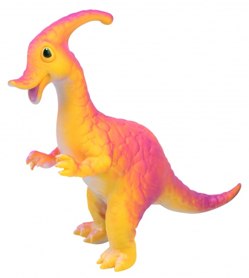 Nic Nac Cartoon Dinosaurus Geel/Oranje