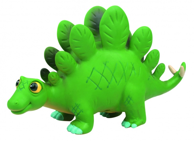 Nic Nac Cartoon Dinosaurus Licht Groen