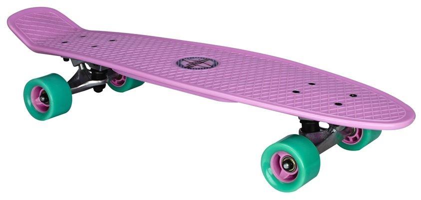Nijdam Flipgrip Plastic Skateboard 28 Inch Lila