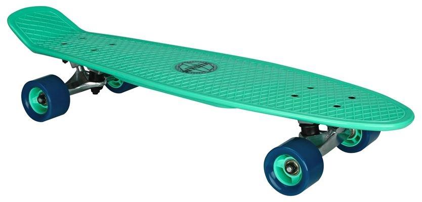 Nijdam Flipgrip Plastic Skateboard 28 Inch Mintgroen