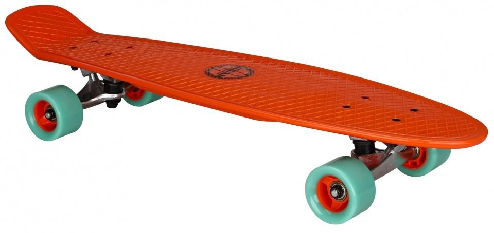 Nijdam Flipgrip Plastic Skateboard 28 Inch Rood