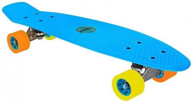 Nijdam Flipgrip Skateboard 22,5 Inch Blauw
