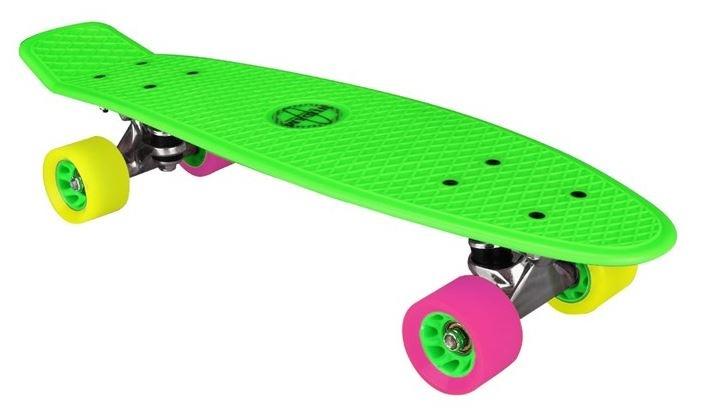 Nijdam Flipgrip Skateboard 22,5 Inch Groen