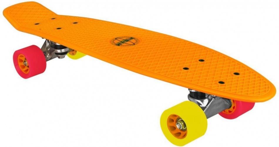 Nijdam Flipgrip Skateboard 22,5 Inch Oranje