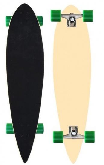 Nijdam Longboard 39 Inch Pro Line Blank/Groen