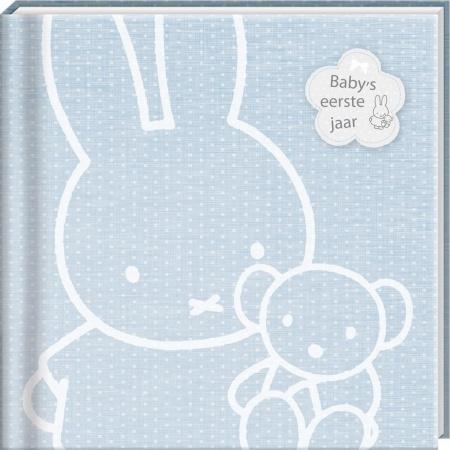 Nijntje Boek Baby's Eerste Jaar Blauw
