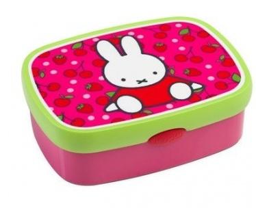 Nijntje broodtrommel roze 17,5 x 13 x 6 cm