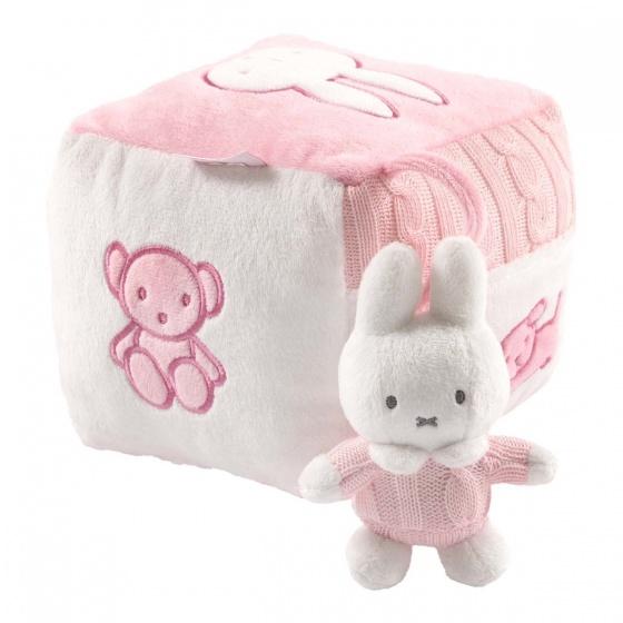 Nijntje kubus gebreid roze