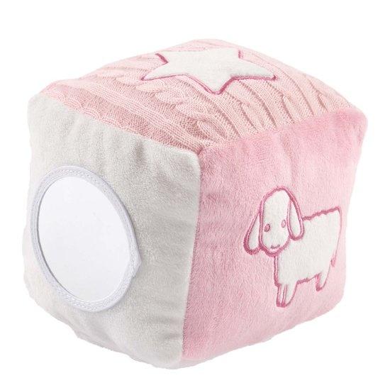 Nijntje kubus roze 15 x 15 x 15 cm