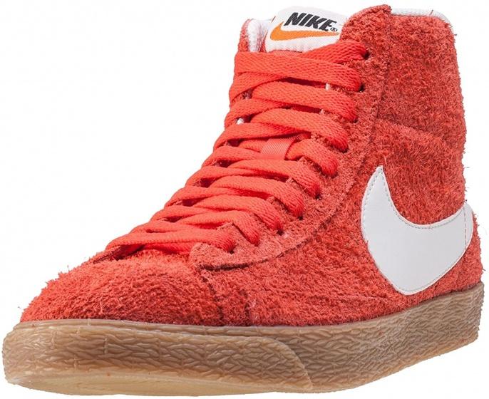 Sneakers Blazer Mid Suede Vintage Max ladies red