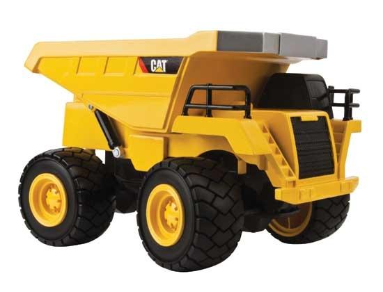 Nikko Caterpillar RC kiepwagen 25 x 16 x 17 cm geel