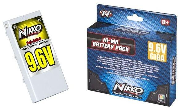 Nikko Giga Pack Ni MH 9.6V batterij