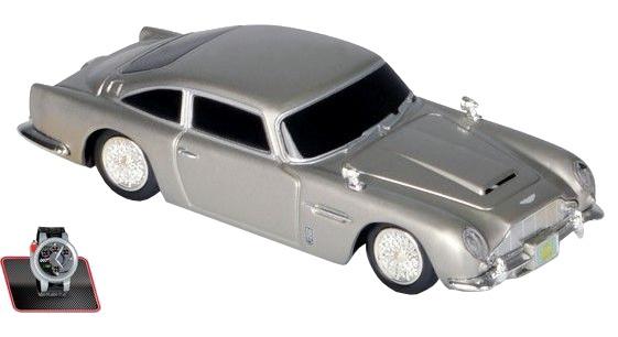 Nikko RC Aston Martin DB5 James Bond 19 x 9 x 7 cm zwart