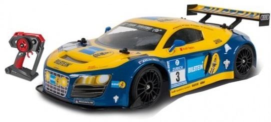 Nikko Rc Evo Audi R8 Lsm 1:14 blauw/geel