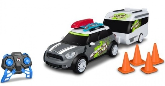 Nikko RC Mini Countryman + Caravan 1:20