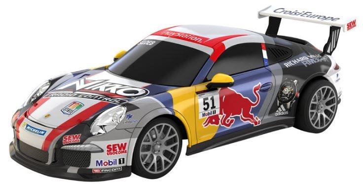 Nikko RC Porsche 911 GT3 Red Bull 43 x 20 x 16 cm multicolor