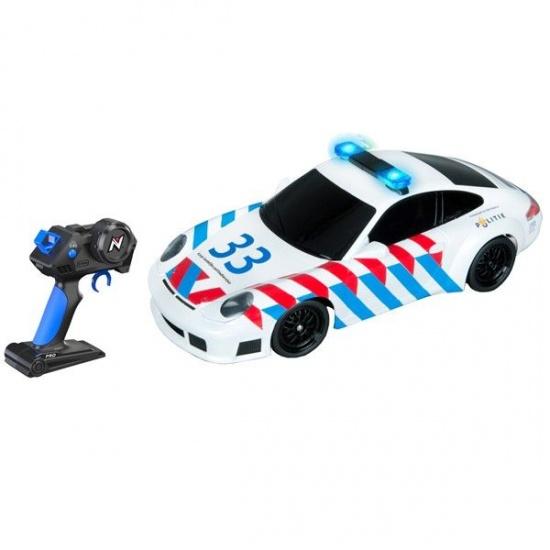 Nikko Rc Porsche politie 1:16