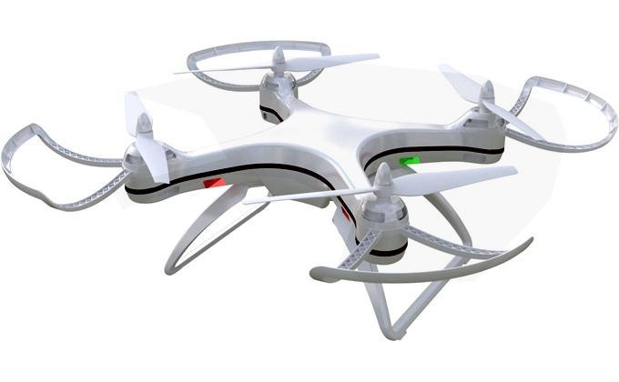 Ninco quadcopter Air Stratus Wifi GPS 62 cm wit