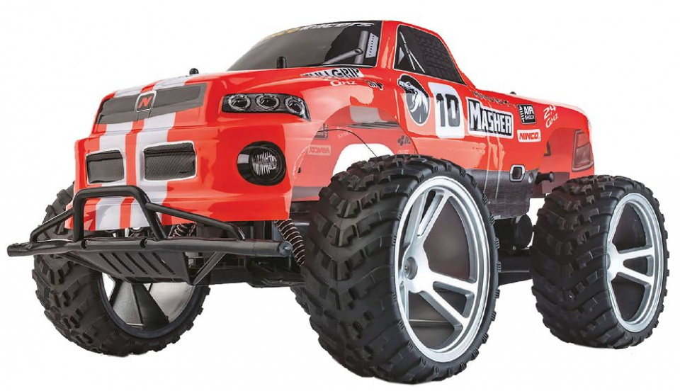 Ninco raceauto RC High Speed Buggy 1:10 rubber rood 2 delig