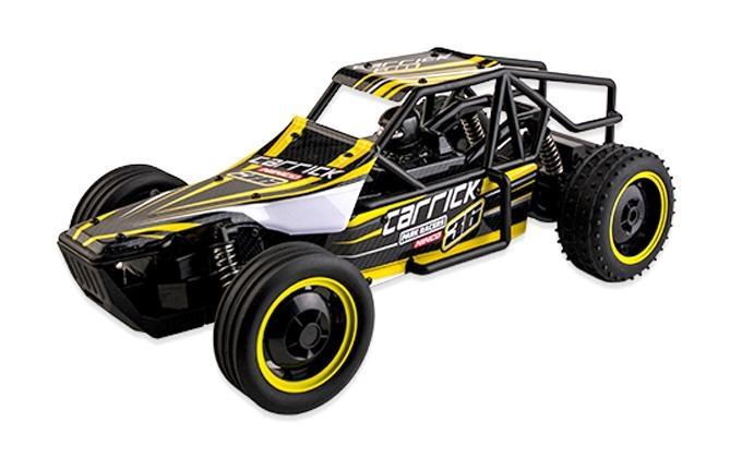 Ninco RC Racers Carrick auto schaal 1:10 zwart/geel
