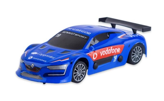 Ninco Slot auto Renault RS schaal 1:32 blauw