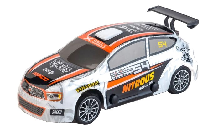 Ninco Slot auto RX Nitrous schaal 1:32 wit