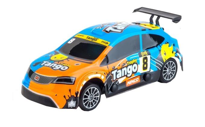 Ninco Slot auto RX Tango schaal 1:32 blauw/oranje